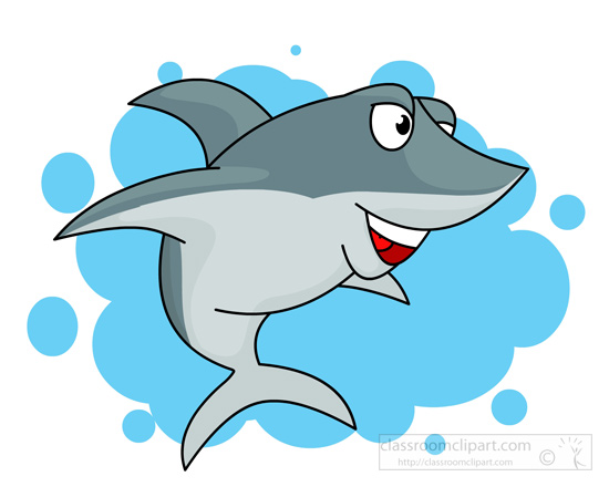 550x440 Free Shark Clipart