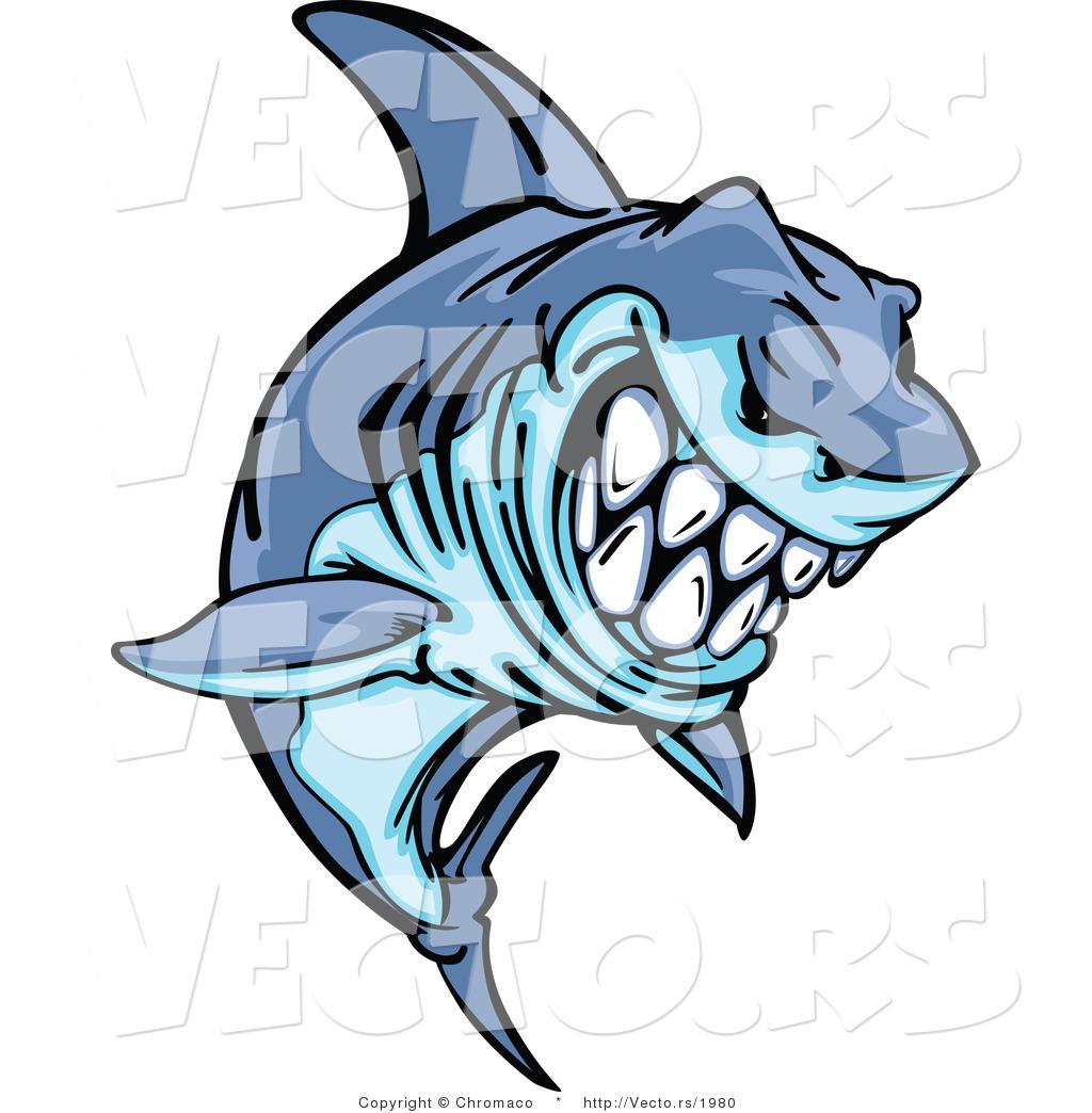 1024x1044 Fierce Shark Clip Art Cliparts