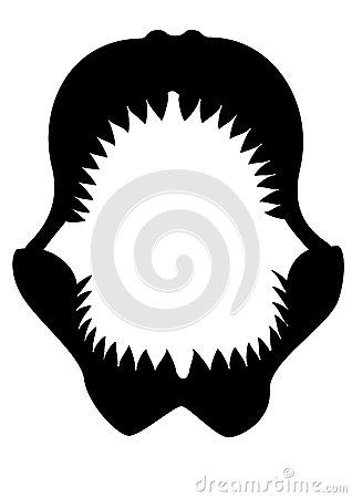 318x450 Shark Jaws Clipart