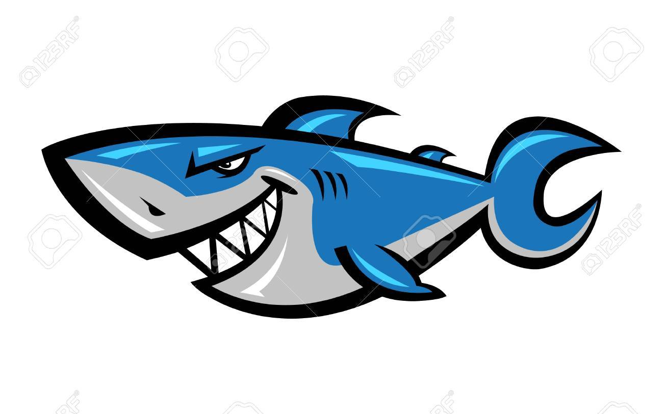 1300x812 Shark Vector Illustration Royalty Free Cliparts, Vectors,