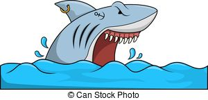 300x145 Attack Shark Clipart, Explore Pictures