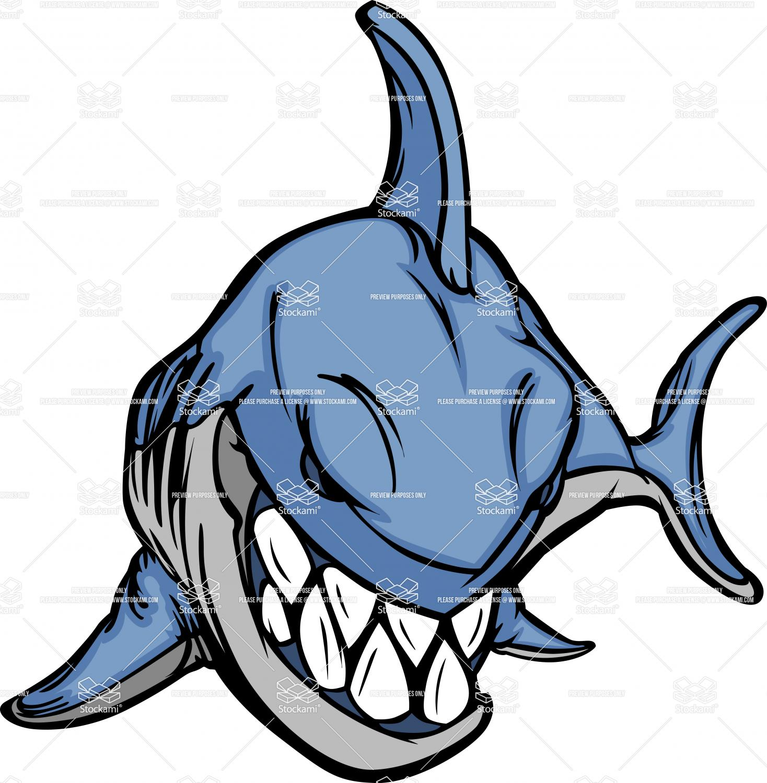 1468x1500 Tiger Sharks Clipart