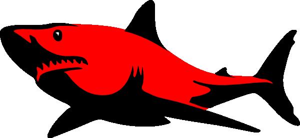 600x277 Red.shark Clip Art