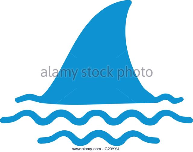640x505 Shark Fin Stock Vector Images