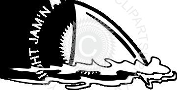 361x183 Shark Fin Clipart Panda