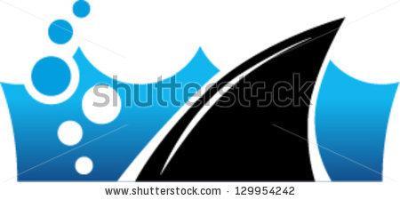 450x225 Fins Clipart Grey Shark