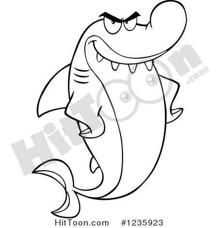 450x470 Shark Clipart