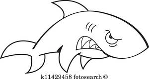 300x164 Angry Shark Clip Art Royalty Free. 646 Angry Shark Clipart Vector