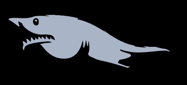 600x274 Shark Clip Art