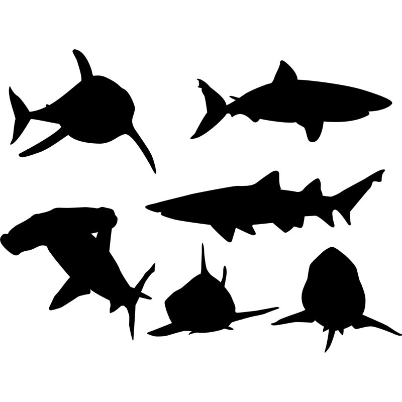 Shark Silhouette Clipart | Free download on ClipArtMag