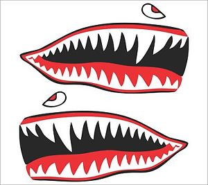Shark Teeth Clipart