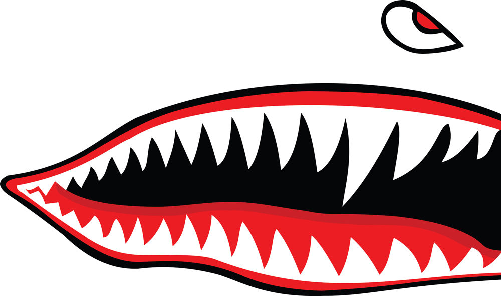 Shark Teeth Clipart   Free download on ClipArtMag