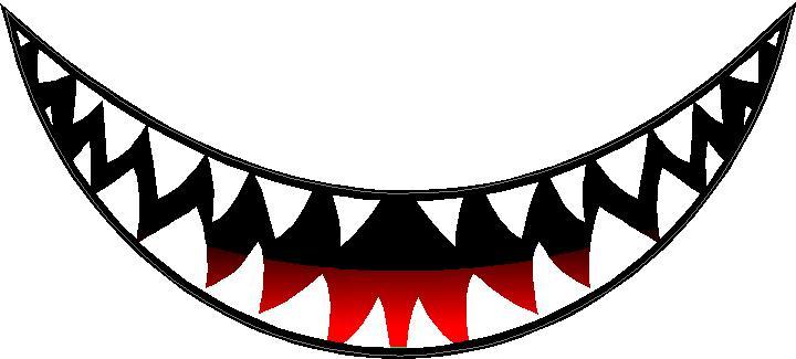 Shark Teeth Clipart | Free download best Shark Teeth Clipart on ...