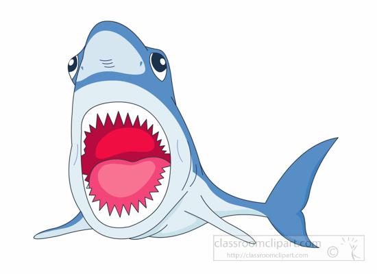 550x400 Shark Clipart Open Mouth