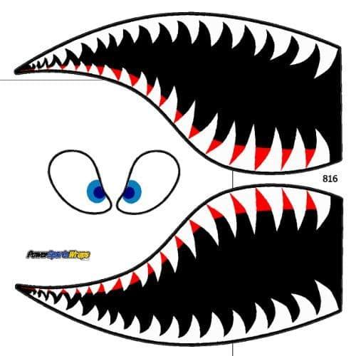 500x500 Tiger Shark Clipart Shark Face