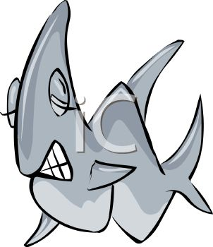 302x350 Shark Teeth Images Clip Art