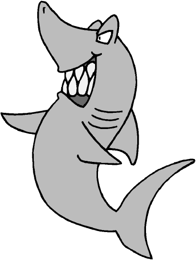 400x530 Shark Clipart Comic