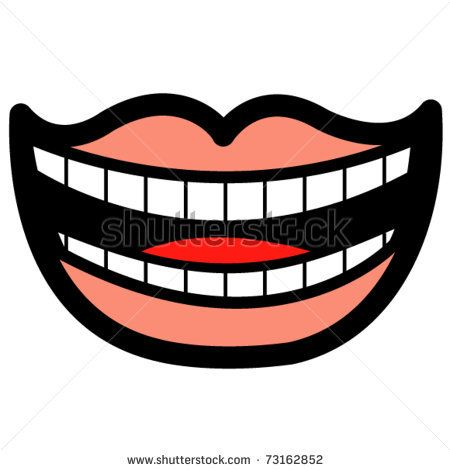 Sharp Teeth Clipart