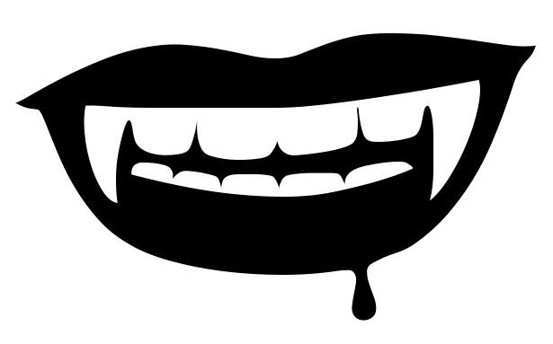 615x383 Dracula Clipart Tooth