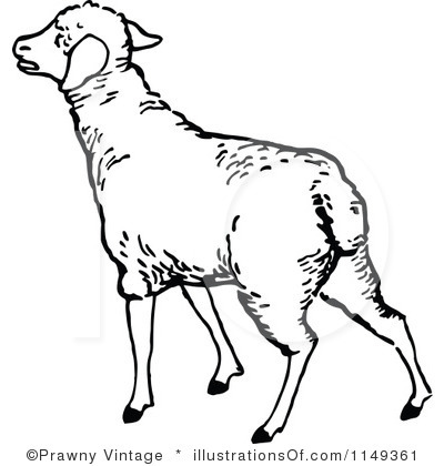400x420 Clipart Of Lambs And Sheep