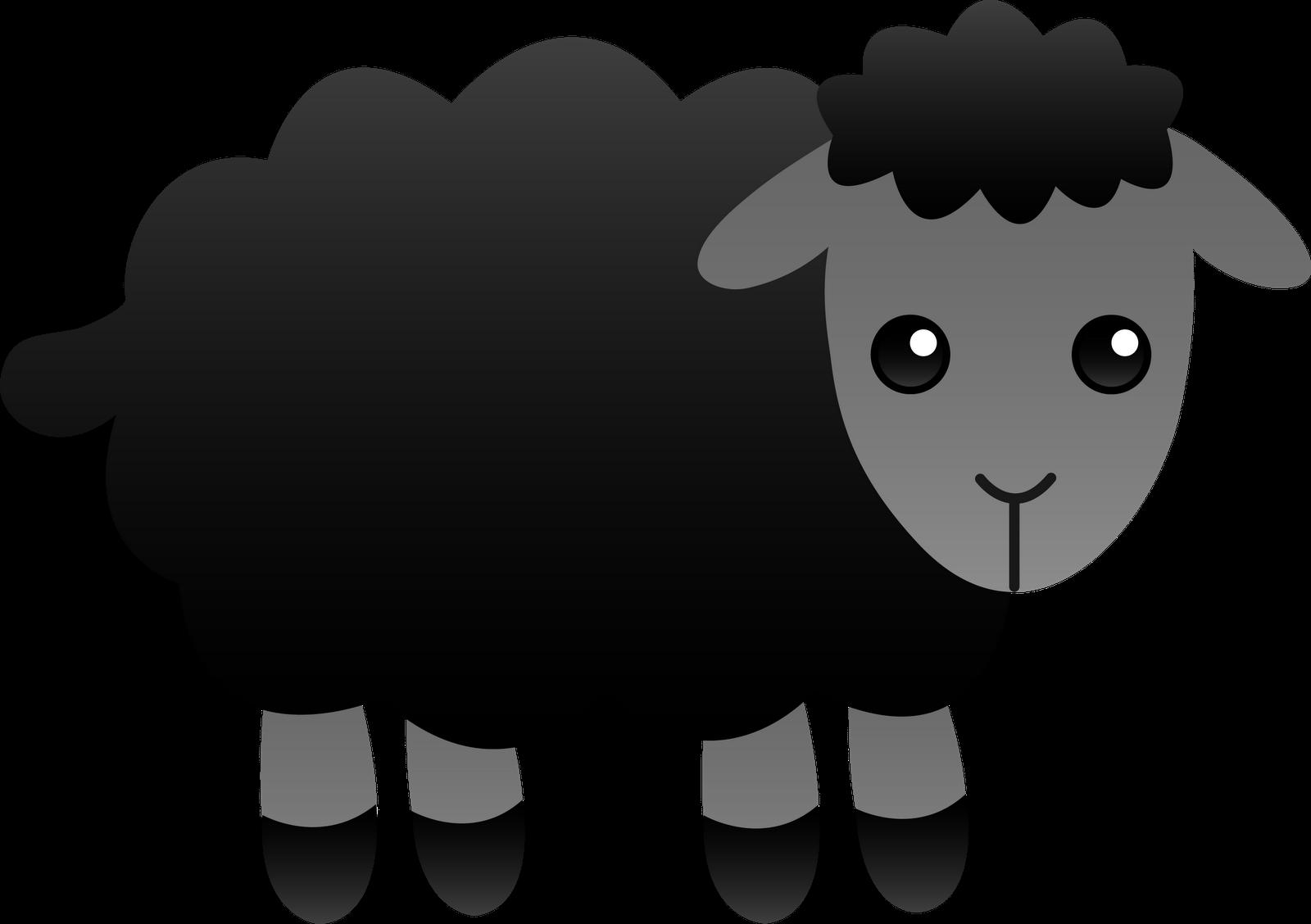 1600x1128 Baa Baa Black Sheep Clip Art