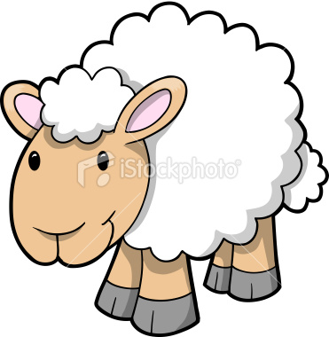 371x380 Cute Sheep Lamb Vector Vector Art, Lambs And Royalty