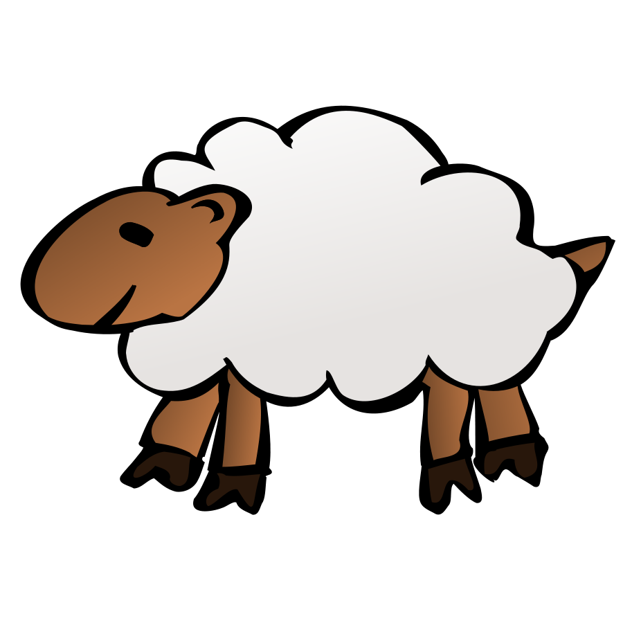 900x900 Lamb Outline Sheep Clip Art Free Clipart Images Image Cliparting