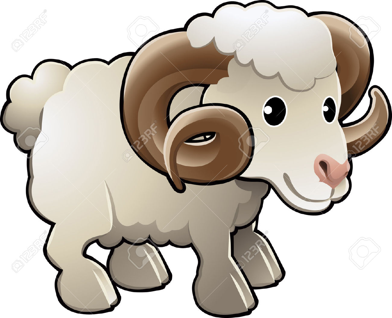 1300x1056 Sheep Clipart Cute Farm Animal