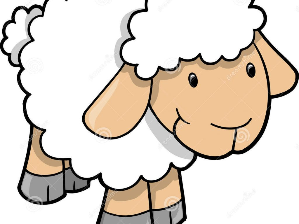 1024x768 Smart Inspiration Sheep Clip Art Lamb Clipart Black And White