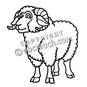 300x300 Lamb Clipart Ram