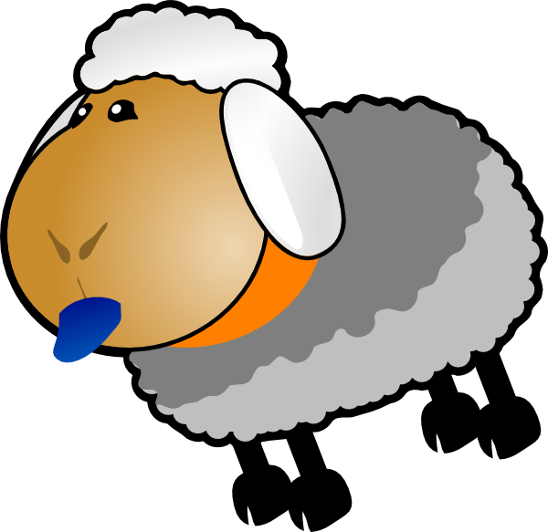 600x583 Sheep, Rotate 6 Clip Art