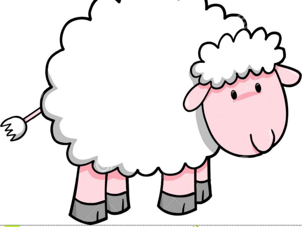 1024x768 Sheep Clip Art