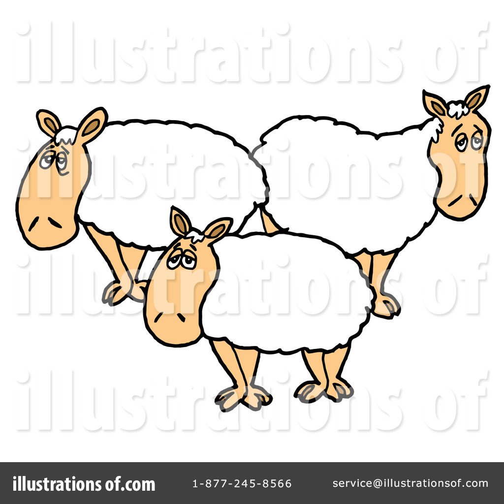 1024x1024 Sheep Clipart