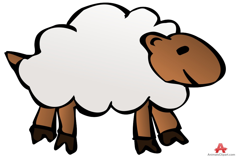 999x665 Sheep Clip Art 4