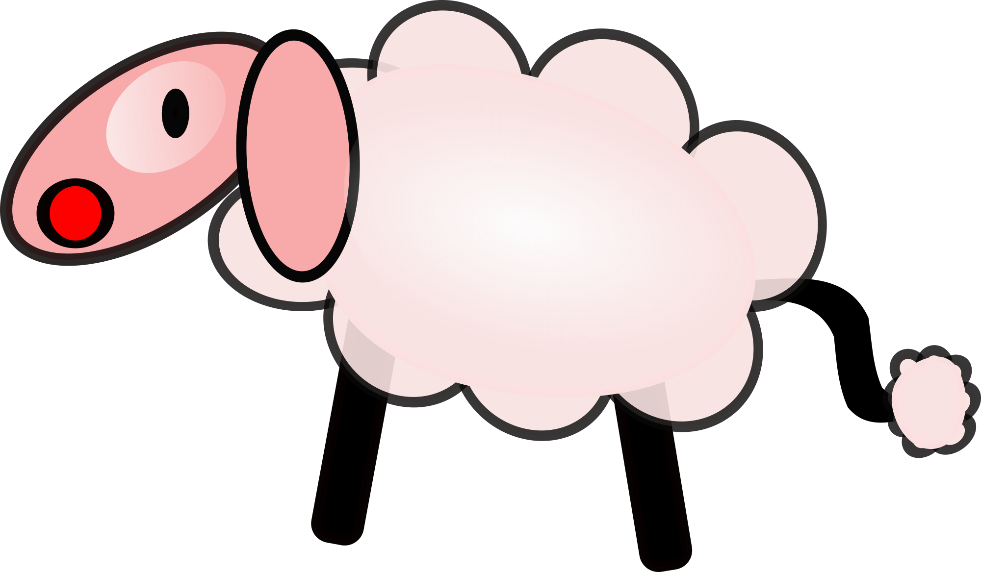 2000x1167 Sheep Clip Art 7 Clipartix