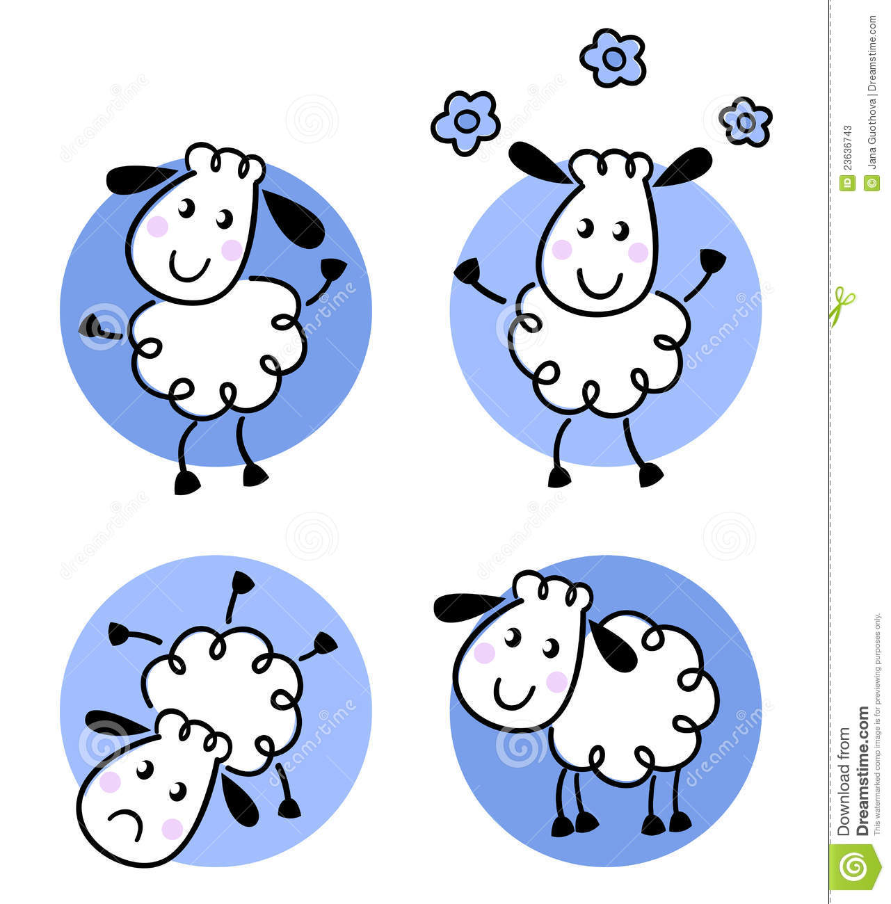 1281x1300 Sheep Clipart Blue