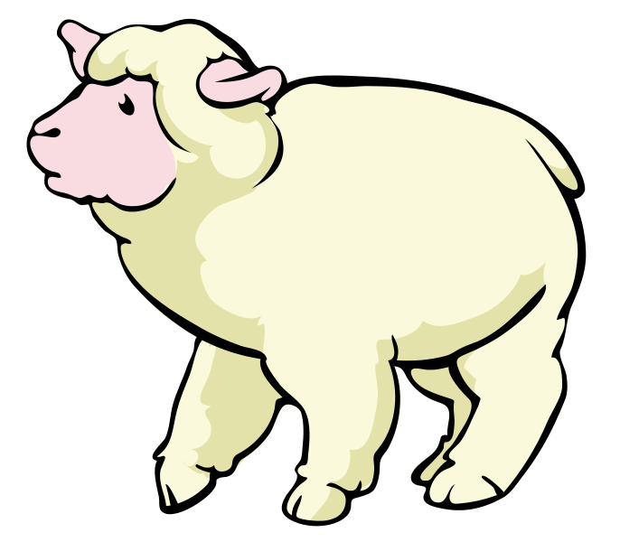 686x600 Sheep Free To Use Clipart 2