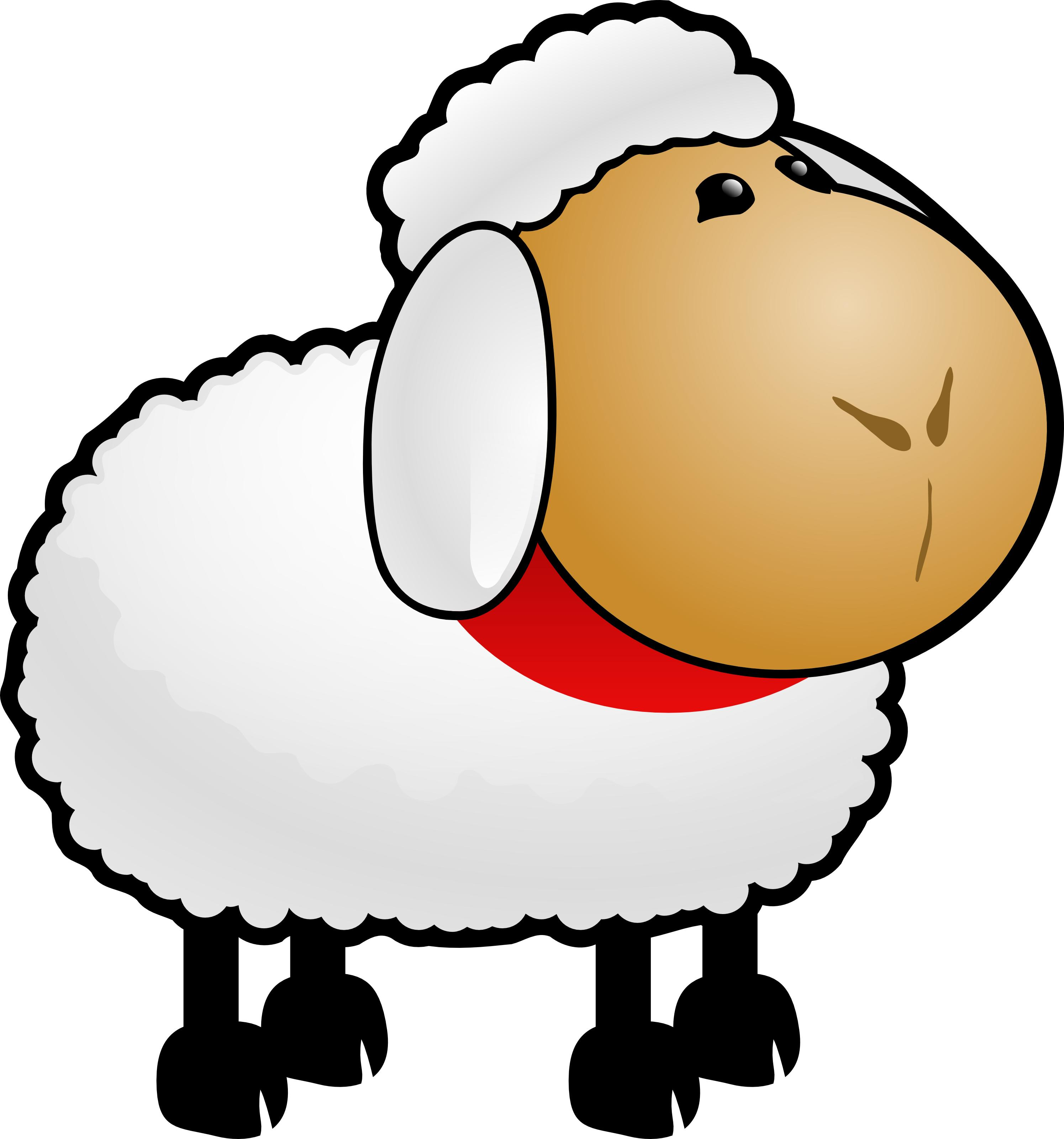 2990x3200 Top Free Cartoon Sheep Clipart Illustration Photos