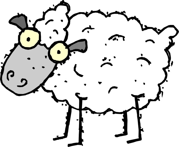 600x496 Cartoon Sheep Clip Art Free Vector In Open Office Drawing Svg