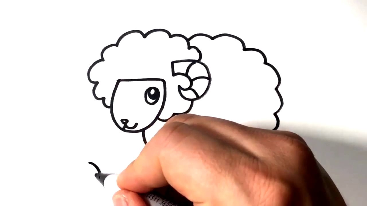 1280x720 How To Draw Sheep Easy Drawing Ideas For Kids Online Courses