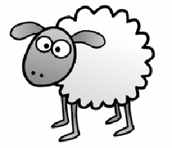 250x216 Drawn Sheep