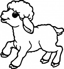 214x230 Image Result For Outline Images Of Sheep Fair Coloring Contest