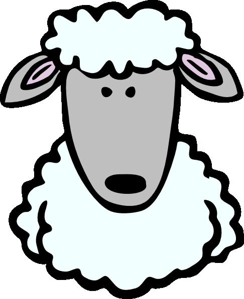 486x597 Cartoon Sheep Clipart