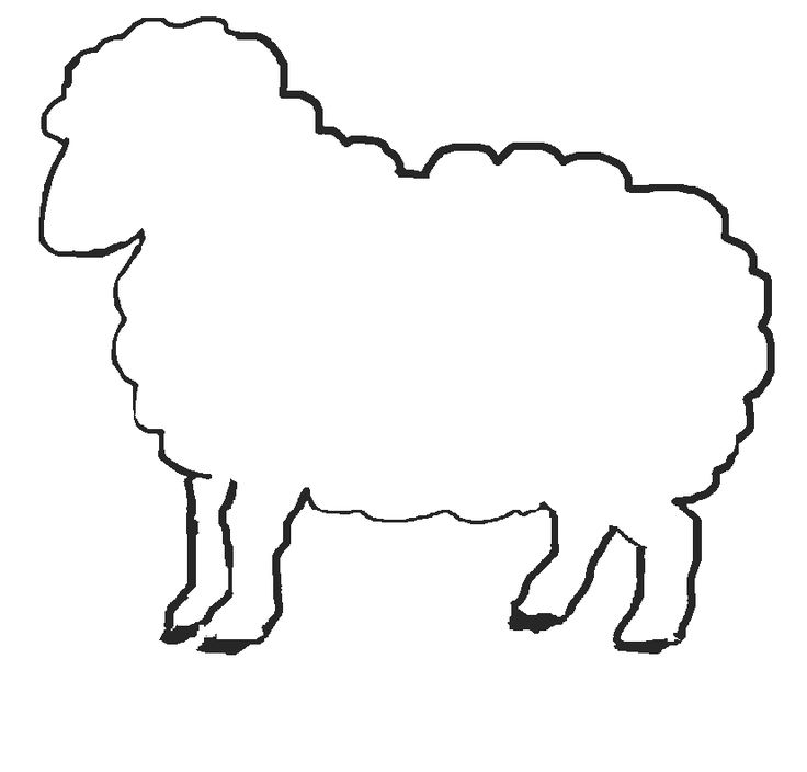 736x704 Coloring Pictures Of Sheep Ear Patterns