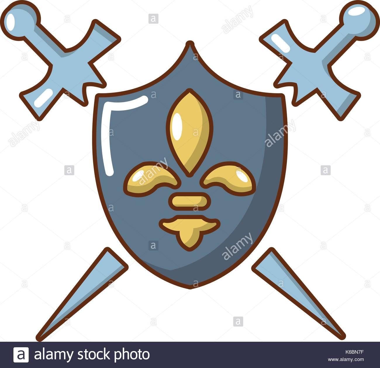1300x1260 Shield Sword Cartoon Stock Photos Amp Shield Sword Cartoon Stock