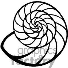 236x236 Shell Clip Art Black And White Sea Shell Clipart Shells Clipart