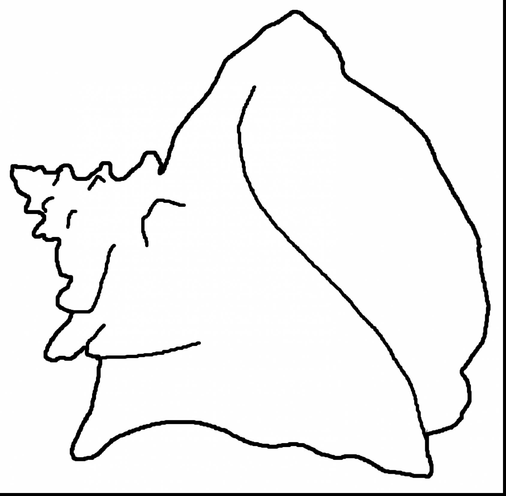 1688x1652 Terrific Conch Shell Coloring Page Printable With Seashell