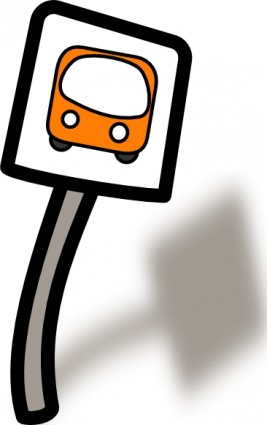 267x425 Bus Shelter Clipart