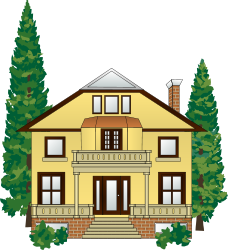 228x250 Free House Clip Art Providing You Shelter