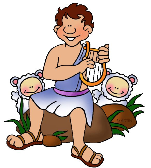 Shepherd And Sheep Clipart